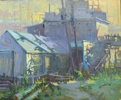Getting an Early Start by Lori Putnam, 20x24