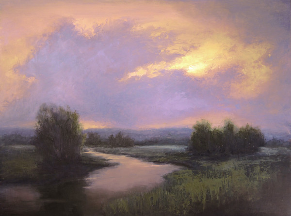 """Evening Glow"", Jane Hunt"