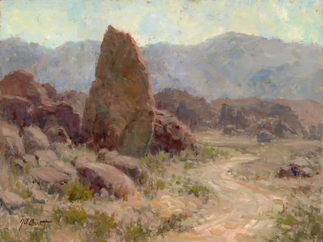 California's Alabama Hills is a surreal place and a lot of fun to paint.