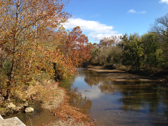 The Harpeth River near my home. Photo courtesy Harpeth River Watershed Association