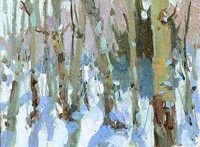 """""""Snow Mass"""",6″ x 8″,Lori Putnam OPA"""