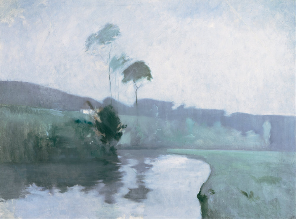 John Henry Twachtman, Springtime, plein air, 1884