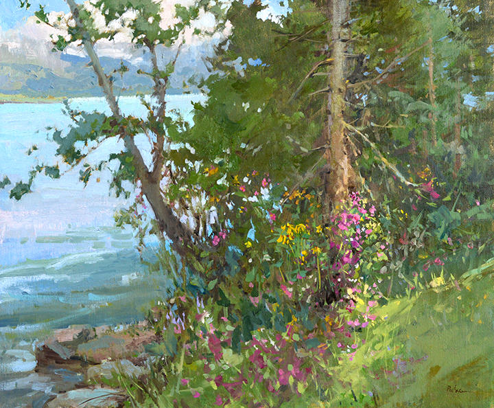 Spring Growth, 20x24, oil linen. $5900
