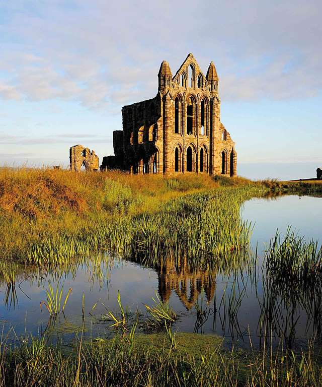 Whitby Abbey (where Dracula first came to England!)