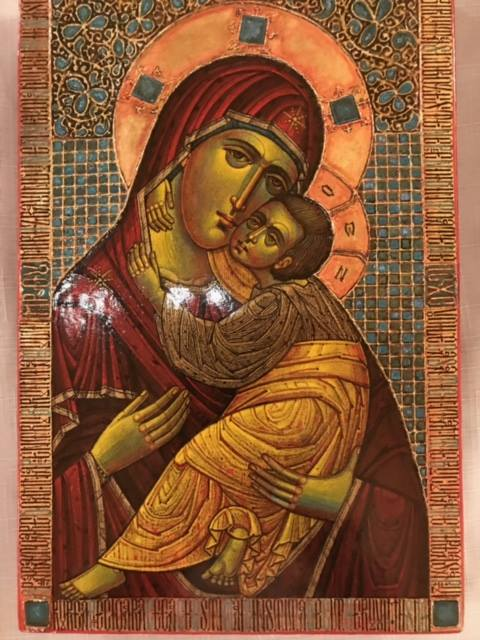Sister Eliseea Papacioc iconography