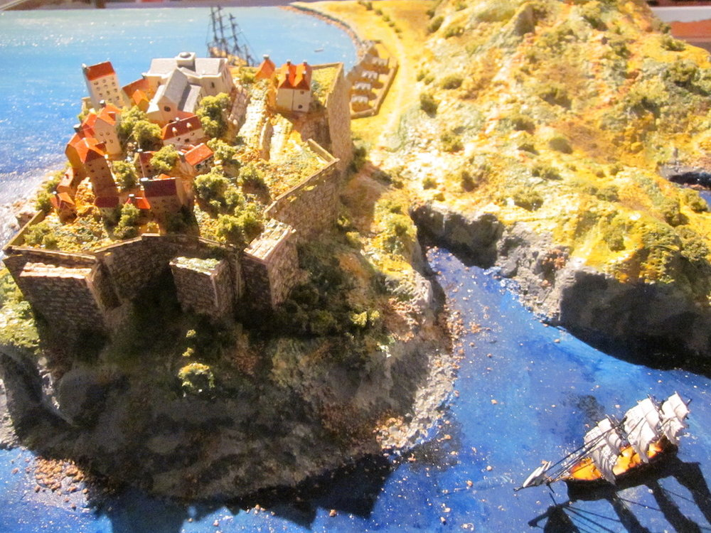 Siege of Calvi (Jun 17-Aug 10, 1794) (1-1200 scale)