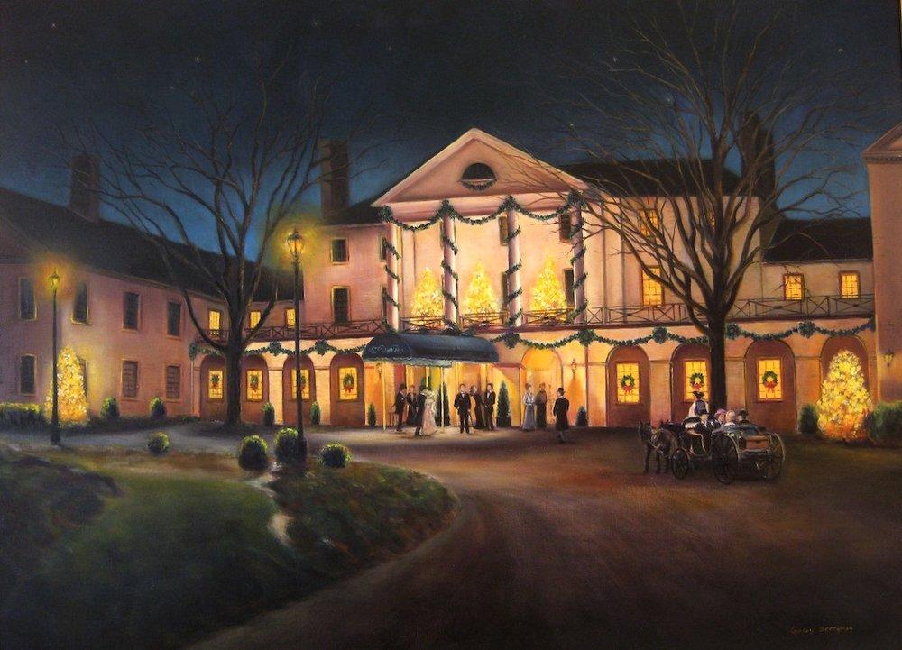 The Williamsburg Inn at Christmas