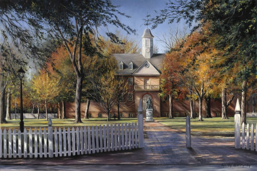 The Wren Building, College of William & Mary