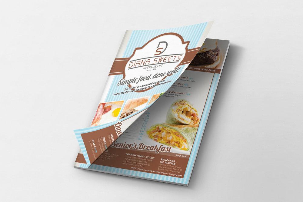 Print Material - Diana Sweets - Boulevard North
