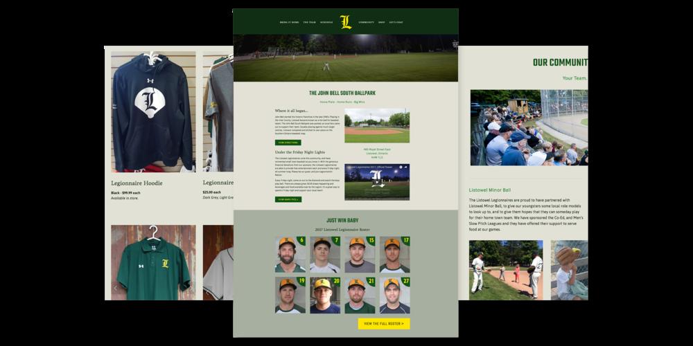 Boulevard North - Website Design - Listowel, Ontario