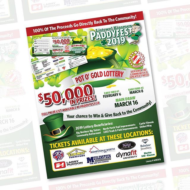 Today's the first early bird draw for the Paddyfest lottery! 🍀 If you haven't purchased your tickets yet, make sure to get them before they're all gone! @paddyfest1977 #supportlocal #community #northperth ⠀⠀⠀⠀⠀⠀⠀⠀⠀ Having been apart of the Paddyfest parade, ambassador competition and attending the various events over the years, it's great to be able to help with the design and printing services for the event! 💚 ⠀⠀⠀⠀⠀⠀⠀⠀⠀ ⠀⠀⠀⠀⠀⠀⠀⠀⠀ #listowelpaddyfest #graphicdesigner #websitedesign #paddyfest2019 #listowelpaddyfest #listowelontario #posterdesign #ticketdesign #designdaily #creativeminds #calledtobecreative #creativentrepreneur #mycreativebiz #thehappynow #pursuepretty #smallbiz #thatsdarling #womeninbusiness #eventmarketing #printingservice