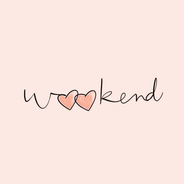 Happy Weekend! 💕Do you have anything exciting planned?⠀⠀⠀⠀⠀⠀⠀⠀⠀ ⠀⠀⠀⠀⠀⠀⠀⠀⠀⠀⠀⠀⠀⠀⠀⠀⠀ ⠀⠀⠀⠀⠀⠀⠀⠀⠀ #weekend #weekendvibes #weekendlove #february #winter #enjoy #taketimeforyou #theeverygirl #bossbabe #smallbizsat #creative #thatsdarling #thehappynow #beingboss #creativebusiness #communityovercompetition #graphicdesigner #websitedesigner #boulevardnorth #listowelontario