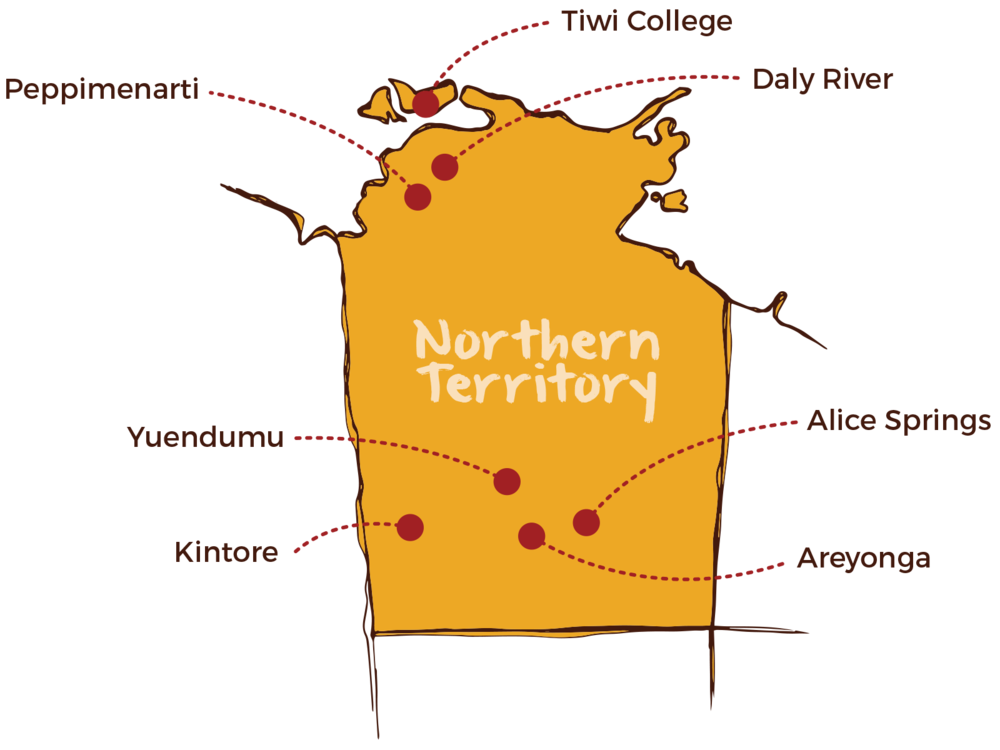 Red Dust operates in several locations around the Northern Territory.