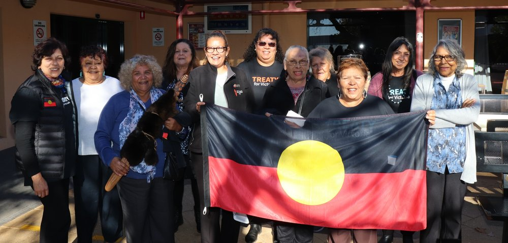 - In 2018, forums have been taking place around the state for the Aboriginal and Torres Strait Islander community as well as members of the Victorian public to create a more transparent Treaty process.  Jill Gallagher, The Victorian Treaty Advancement Commissioner, has been speaking at these and other events. Events are listed here.