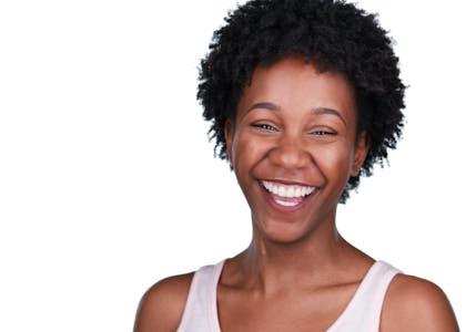 Laughing Woman Headshot