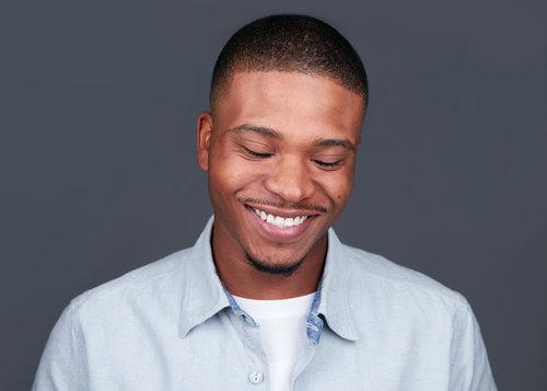 Actor Laughing Headshot