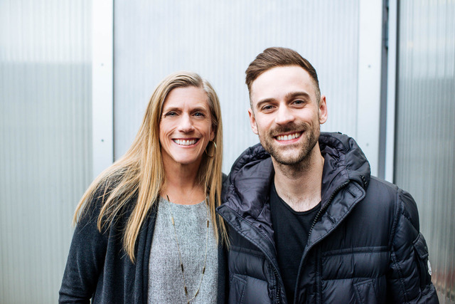 Pictured: Julie Lewis with son, Ryan Lewis, of Macklemore and Ryan Lewis.