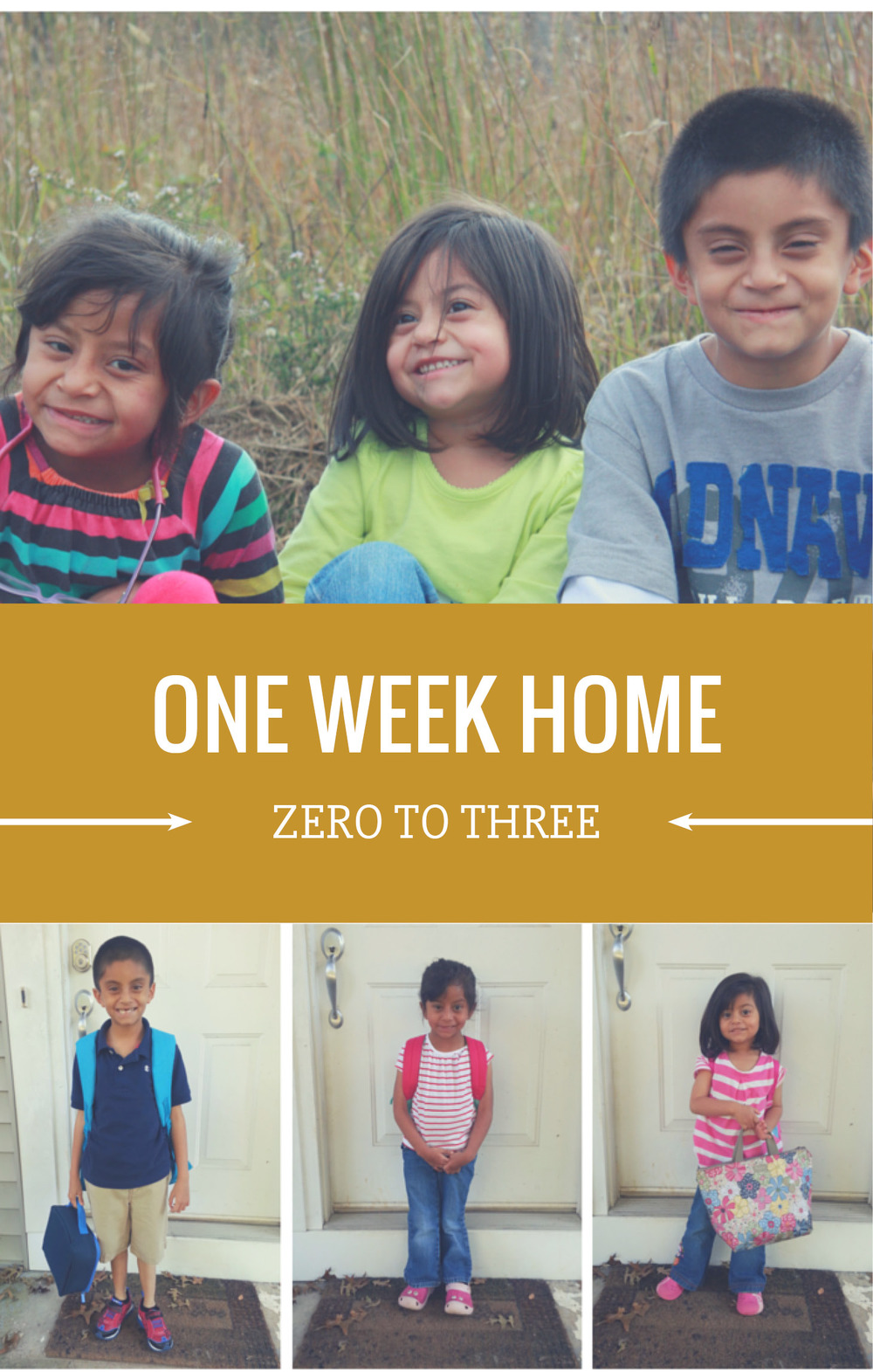 Zero to Three: One Week Home- NJS Design Company