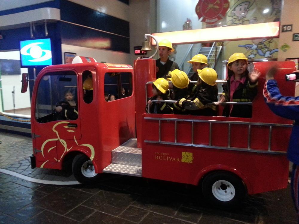 divercity fire truck Bogota
