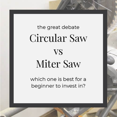 Circular Saw vs Miter Saw : Which one is right for a beginner? – NJS