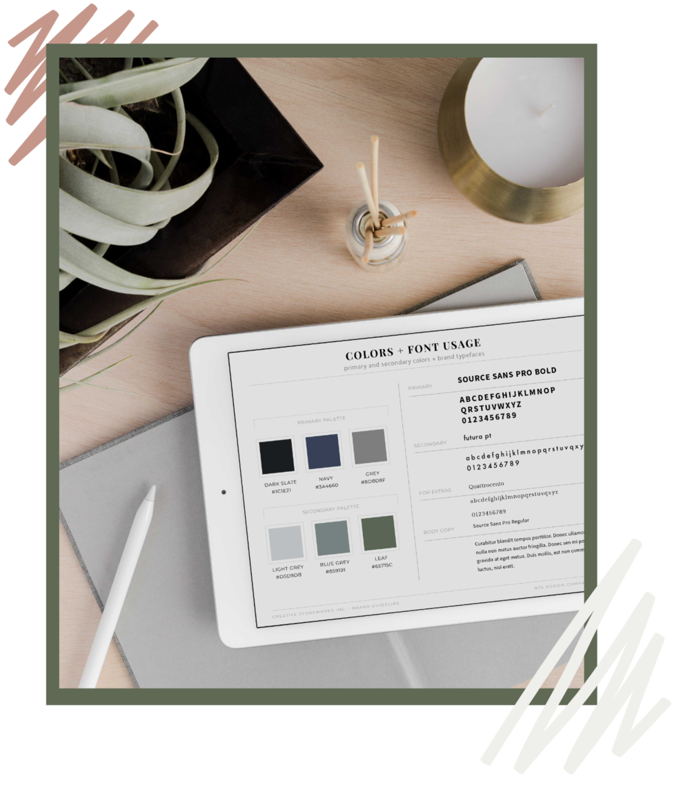 custom branding and squarespace website design for interior designers makers and home professionals