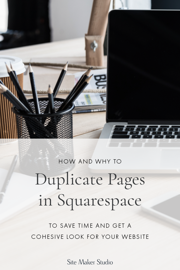 duplicate squarespace pages for custom website design look great for interior designers architects and builders with repeating areas of their site