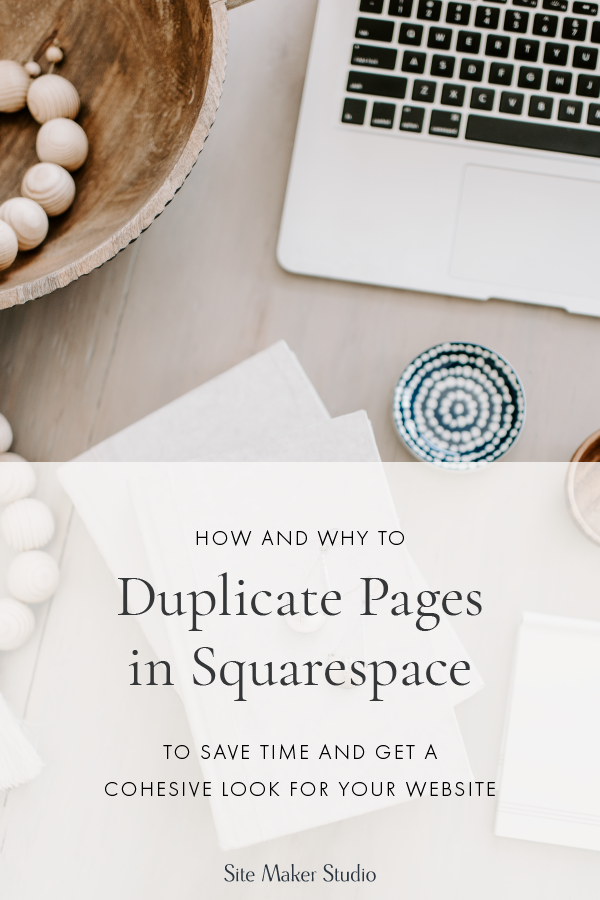 how to duplicate squarespace pages for custom website design make a look thats great for interior designers architects and builders with repeating areas of their site