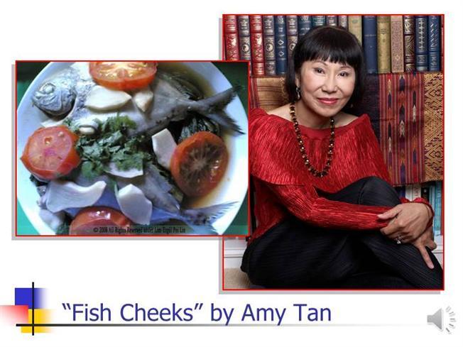 Amy tan essay fish cheeks - formatessay.web.fc2.com