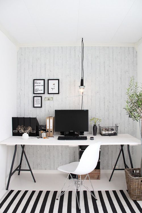 modern minimalist office space