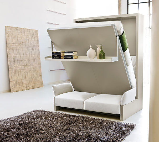 Captivating Re Inventing Small Homes With Clever Space Saving Furniture Designs