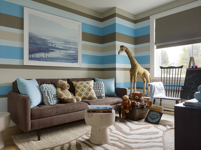 Feature Walls Stripes