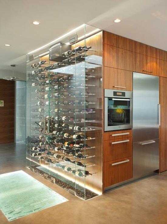 Feature Walls Wine Wall