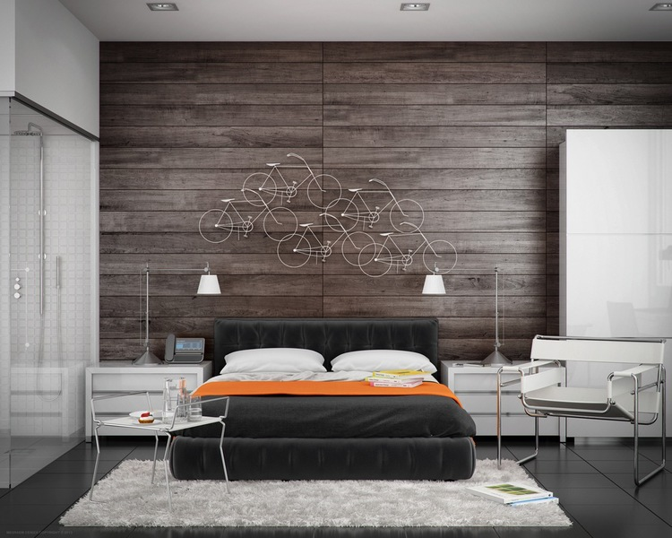 Feature Walls Wood Paneling