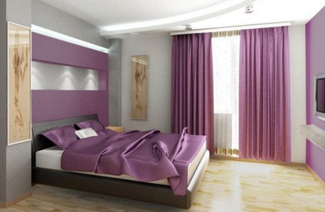 Purple Room Colours