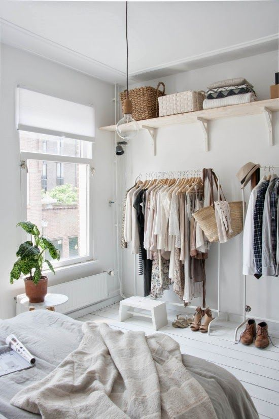 Creative Wardrobe Ideas for Small Spaces — RenoGuide