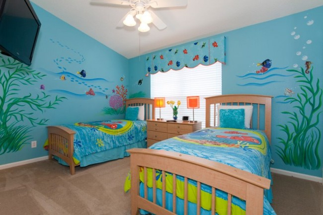 under the sea themed bedroom