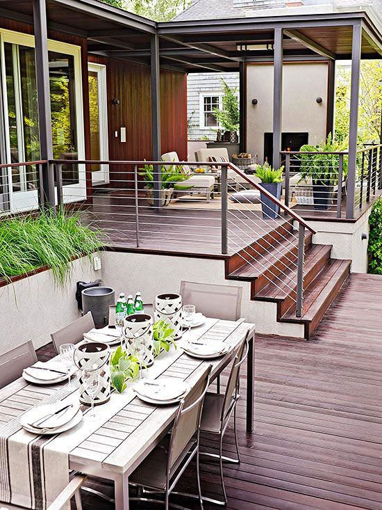 Ideal Materials For Your Deck! — RenoGuide - Australian ... on Tiered Patio Ideas id=42865
