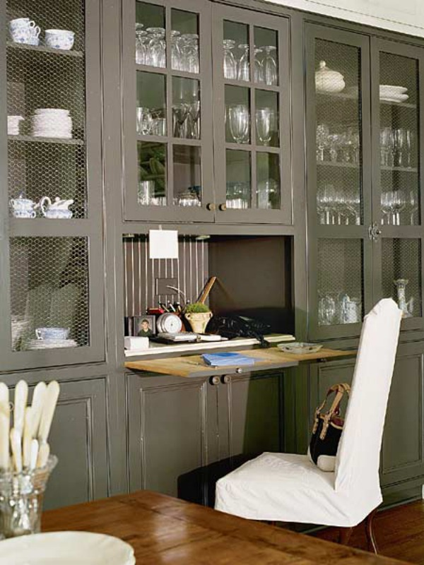 Creative Ways To Hide A Small Home Office Renoguide Australian
