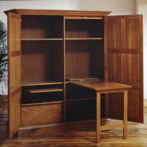 office in a cabinet