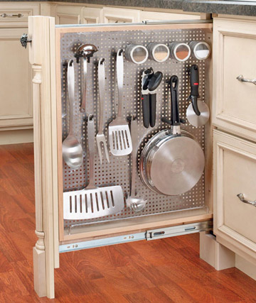 mesh kitchen organiser
