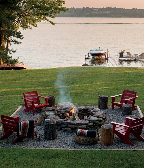 Campfire Backyard Fire Pit