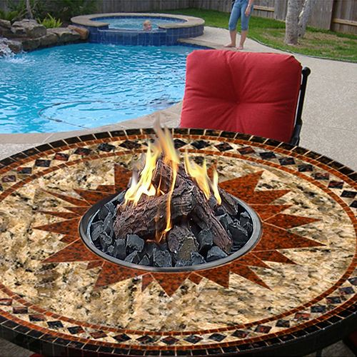 Moroccan table Fire Pit