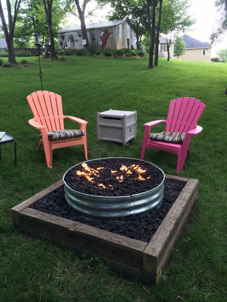 raw Backyard Fire Pit