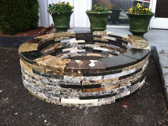 opulent granite Fire Pit