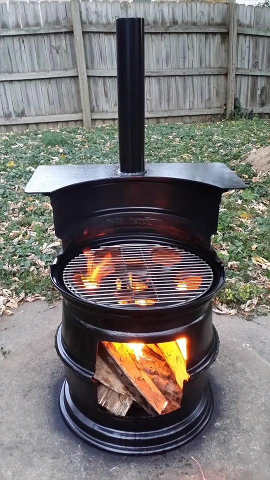 gallon drum smoker Fire Pit