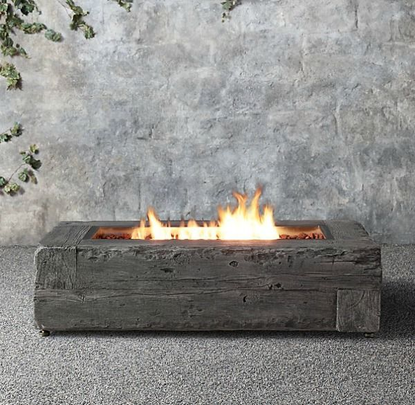 wood log Fire Pit