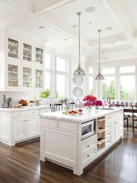 airy and well lighted kitchen