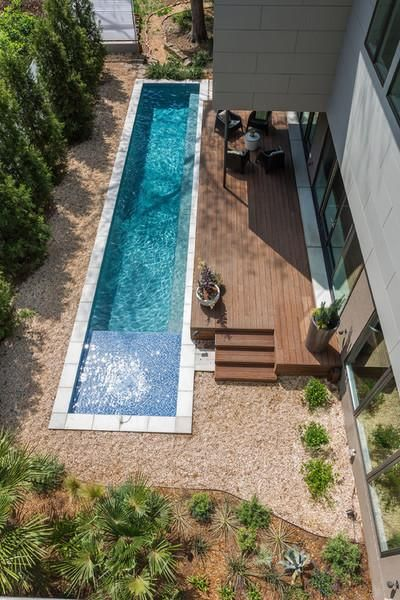 narrow Lap Pool
