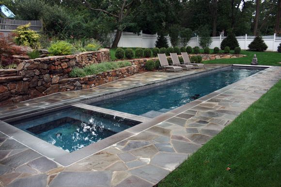 narrow swimming pool designs