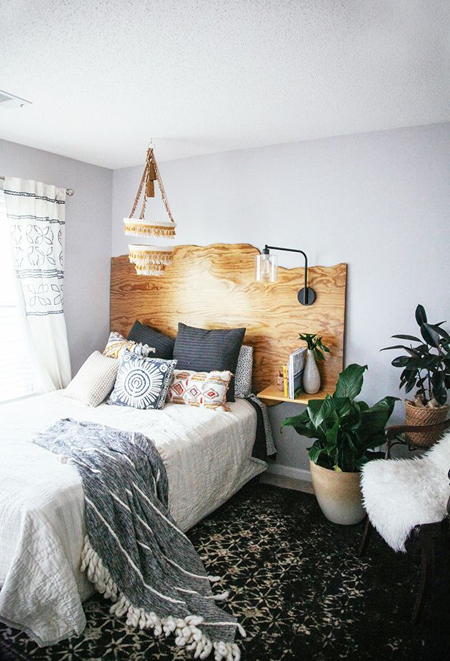 unique headboard